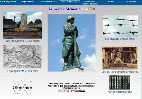 Le nouveau portail MemorialGenWeb est arrivé | Nos Racines | Scoop.it
