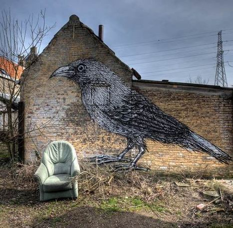 Doel – Un étrange village abandonné offert au Street Art | Communication, arts, culture & rights | Scoop.it