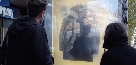 En Suède, H&M dévoile sa nouvelle collection avec des panneaux publicitaires reliés à Twitter | E-Mailing Social Media | Scoop.it