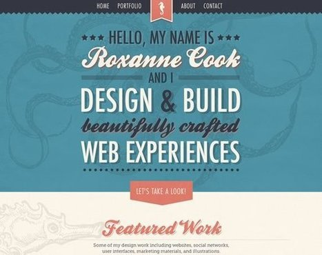 21 Examples of Texture Use in Web Design | Inspiration | Fr3do-Webdesign-Wordpress | Scoop.it