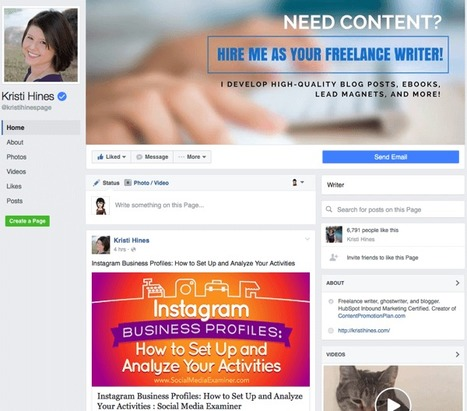 Facebook Page Design Changes: What Marketers Need to Know : Social Media Examiner | DESIGN | Scoop.it