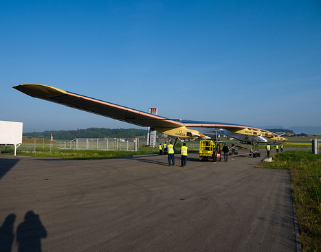 Recapping top story of the week: Solar airplane flies from Switzerland to Morocco | AREA News Digest | Scoop.it