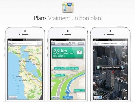 Cartographie : Apple s'offre Embark pour améliorer Plans | Geeks | Scoop.it