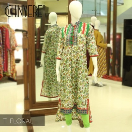 Chinyere Out Class Spring Lawn Casual Dresses 2014   ..:::-StyloStyle.co.uk-:::..   Stylostyle.co.uk   Scoop.it