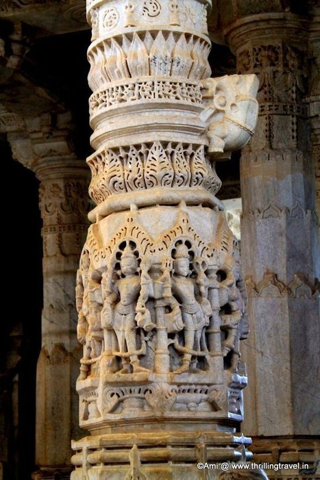 5 Reasons to see the stunning Ranakpur Jain Temple - Thrilling Travel | Travel India | Scoop.it