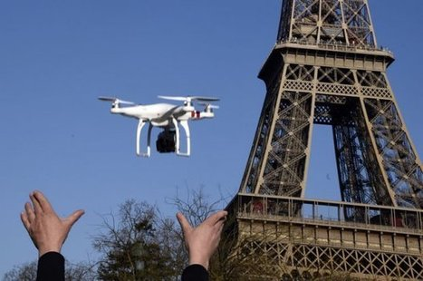Un drone dans le ciel de Paris ! - Making-of | Actu des médias | Scoop.it