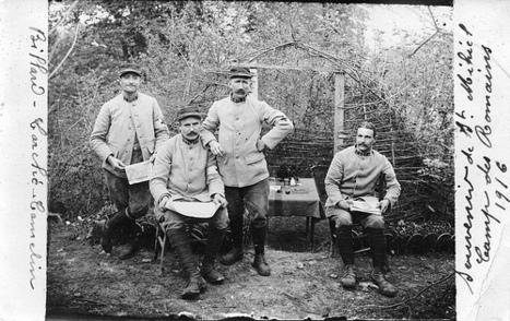 14-18 : la grande collecte   Service de documentation du Centre National sur la Grande Guerre   Scoop.it