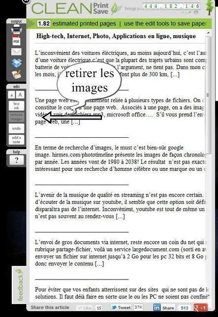 Comment sauvegarder une page web vers dropbox, google doc ou l'imprimer écologiquement | Time to Learn | Scoop.it