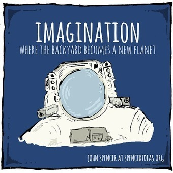 Are we making space for imagination? – John Spencer | Newington Professional Reading | Scoop.it
