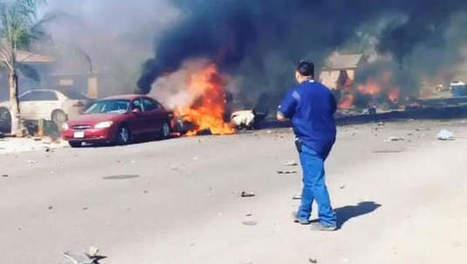 Gevechtsvliegtuig stort neer in woonwijk VS | 2014 | Scoop.it