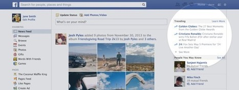 "Facebook Debuts Real-Time ""Trending"" Topics On The Web 