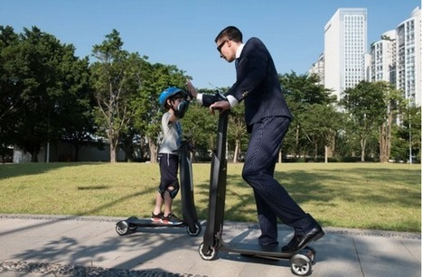 The Immotor Go folding scooter features smartphone controls and swappable batteries | Heron | Scoop.it
