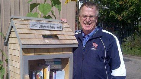 Réinventer la bibliothèque à propos des Little Free Library au NB | Libre échange | Radio-Canada.ca | Bibliothèque et Techno | Scoop.it