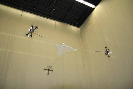 Video: Watch Flying Robots Cooperate, Throw and Catch Balls | Robohub | Heron | Scoop.it