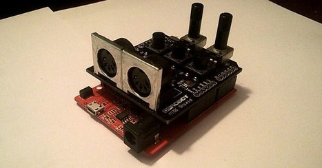 Open Source DIN MIDI To Bluetooth MIDI Adapter | Raspberry Pi | Scoop.it