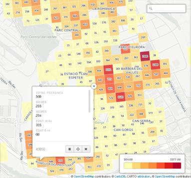 Població georeferenciada. Gener 2014 | #territori | Scoop.it