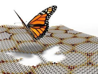 Hofstadter's butterfly spotted in graphene - physicsworld.com | Physics | Scoop.it