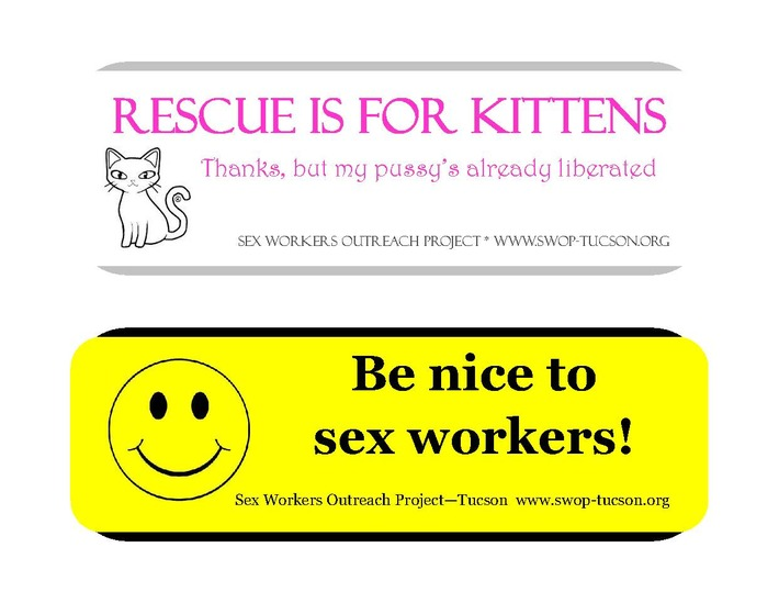 Rescue is for Kittens; Thanks, But My Pussy's Already Liberated | Sex Work | Scoop.it