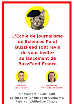 BuzzFeed débarque en France, pour le meilleur ou pour le pire ? | MédiaZz | Scoop.it