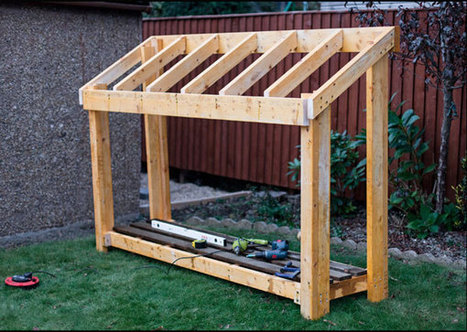 Small-Wood-Shed-   Garden Plans   Scoop.it