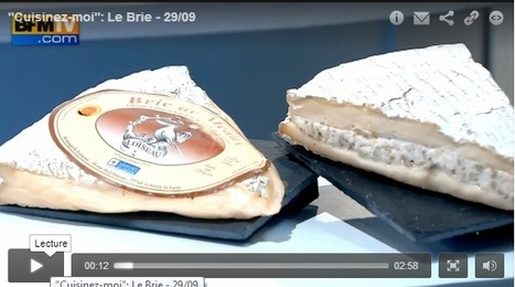 """Cuisinez-moi"" : Le Brie 