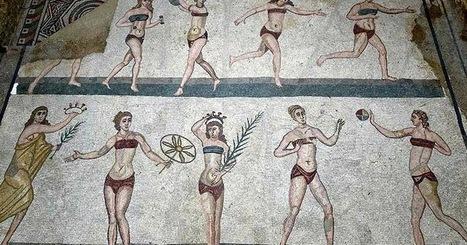 Veraneando bajo el sol de la Antigüedad | LVDVS CHIRONIS 3.0 | Scoop.it