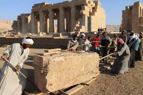 Ce chantier qui fait renaître Ramsès II | Merveilles - Marvels | Scoop.it