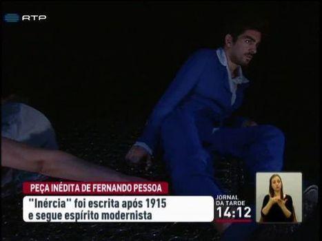 Identificada peça inédita de Fernando Pessoa - SAPO Vídeos | Poesia em Portugal | Scoop.it