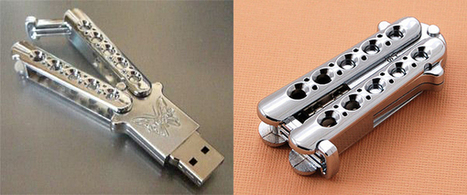 Stab Your PC with a Butterfly Knife USB Drive | Digital Marketing for Business | Scoop.it