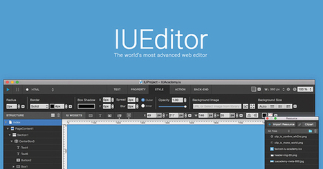 IUEditor | The world's most advanced web editor | EEDSP | Scoop.it
