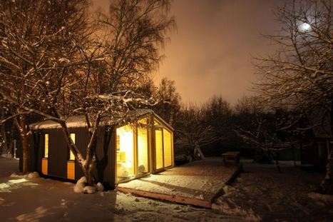 DublDom, a modular tiny house from Russia | BIO Architects | Idées d'Architecture | Scoop.it
