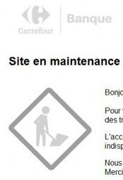 Carrefour-banque.fr : Site en maintenance | Espace client | Scoop.it