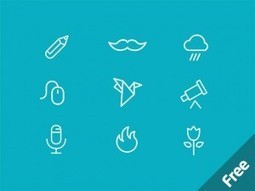 Download: MiniCONS 40 Free PSD Icons   Freebies   Scoop.it