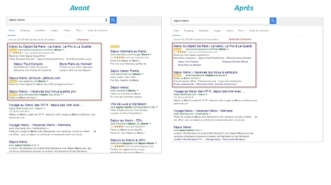 Google rebat les cartes du Search en supprimant les liens de droite | Creative technologie | Scoop.it