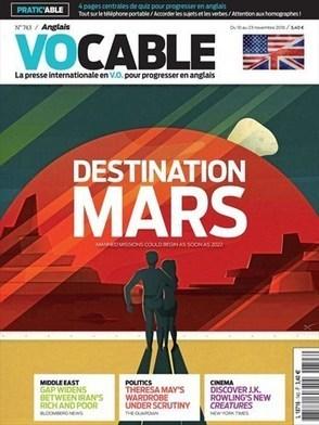 Vocable Anglais n° 743 : Destination Mars | Les revues de la médiathèque | Scoop.it