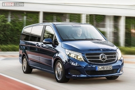 2015 Mercedes V-Class unveiled, launch later this year | checkcarin | Scoop.it