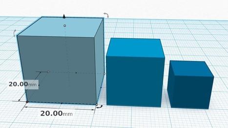 3D -mallinnusta selainlaajennuksella: Tinkercad-alkeet | Digital TSL | Scoop.it