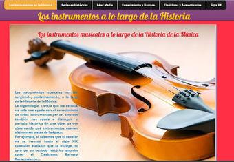 Queremos MusicArte: Los instrumentos musicales a lo largo de la Historia   Queremos MusicArte   Scoop.it