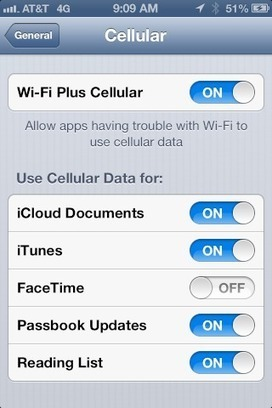 iOS 6 schakelt bij slechte WiFi-verbinding automatisch over op 3G - MacWorld | ten Hagen on Apple | Scoop.it