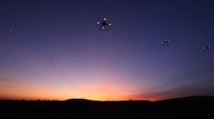 Autonomous drones flock like birds | Rise of the Drones | Scoop.it