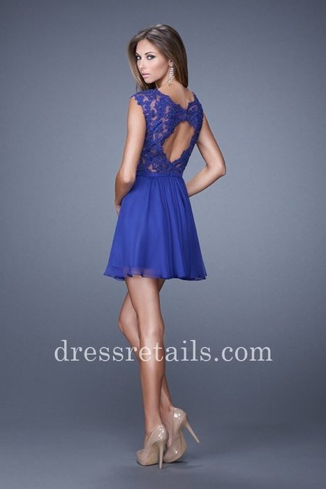 Cheap lace mni short chiffon indigo homecoming dress online by La Femme 20714 [La Femme 20714] - $165.00 : Prom Dresses | Dresses From dressretails.com | Dresses for girls | Scoop.it