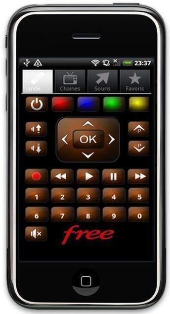 Transformer son smartphone Android en télécommande pour Freebox, Free Téléc   Ballajack   android creativo   Scoop.it