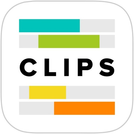 Clips – Simple Video Editor for iPhone | The 1 iPad Classroom | Scoop.it