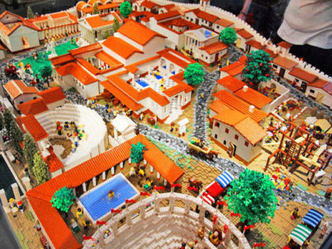 La cité de Pompéi renait en Lego | Information-documentation et EMI | HiddenTavern | Scoop.it
