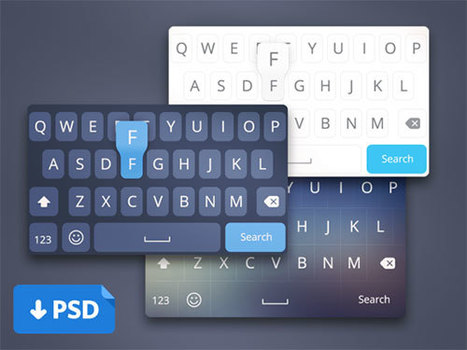 27 Fresh Free PSD UI Kits for Designers | Boost Inspiration | Scoop.it