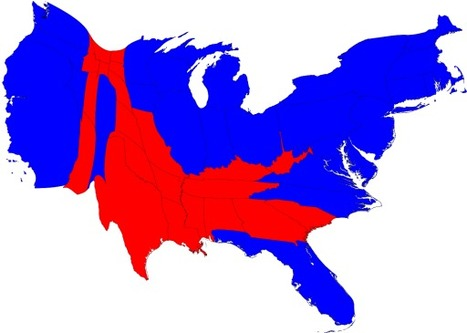 2008 Election maps | Regional Geography | Scoop.it