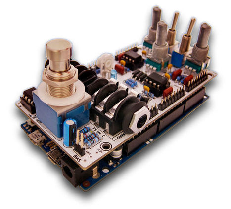 Arduino DUE Guitar Pedal - Open Hardware. | Arduino, Netduino, Rasperry Pi! | Scoop.it