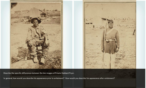 From Slave to Soldier: The Story of Hubbard Pryor | DocsTeach | CCSS News Curated by Core2Class | Scoop.it