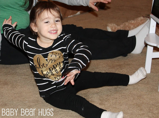 Baby Bear Hugs: Keeping Kids Active in the Winter