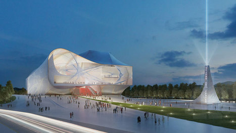 asymptote architecture unveils sejong center for performing arts | House | Scoop.it